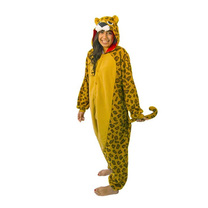 Leoparddräkt kigurumi-1